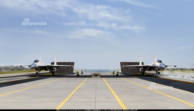 """美媒称中国第3艘航空母舰正在建造当中,新航母很可能比2艘""""前辈""""更大,并跳过蒸汽弹射器转而直接使用电磁弹射器,从而允许更大、更重的飞机携带更多武器,执行更远距离任务。而近日网友就制作了一组电磁弹射和蒸汽弹射对比图,以直观比较中国新航母采用两种弹射器的效果。(来源:超大 adds1111)"""