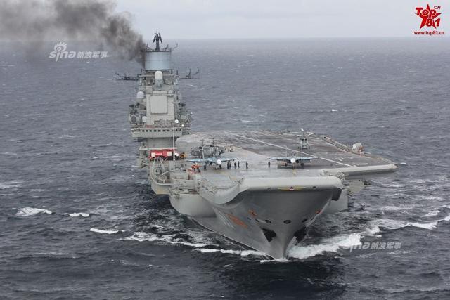 """2018年,""""库兹涅佐夫""""海军上将号舰空母舰将在摩尔曼斯克的俄国防部第35造船厂(小星星造船厂)开始修理。而俄罗斯海军将在没有航母的情况下运行两年。"""