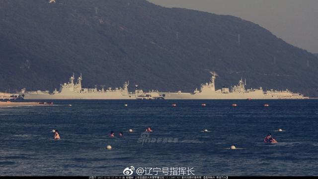 网友偶遇疑中国093B导弹核潜艇