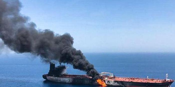阿曼灣油輪遇襲后 美軍中央司令部發出可疑信號