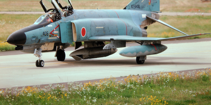 日本最后一架鬼怪侦察型退役 年底告别全部二代机