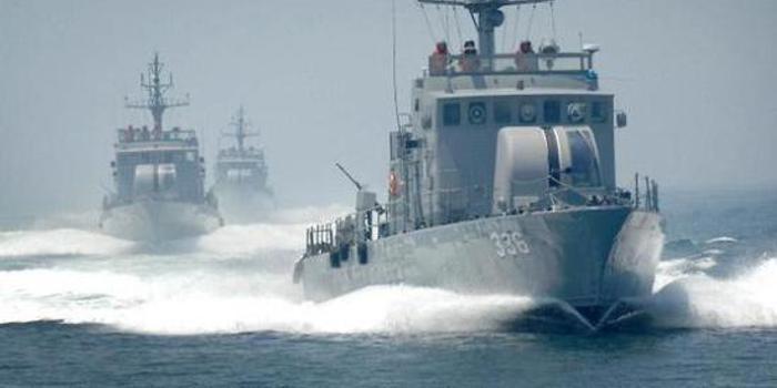 韩国海军射击训练发生事故 手榴弹在舰艇爆炸6人受伤