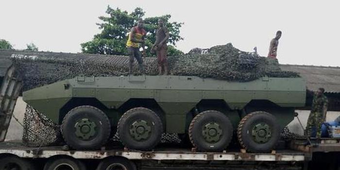 中国ST1突击炮出口尼日利亚 可秒杀俄制T72坦克(图)