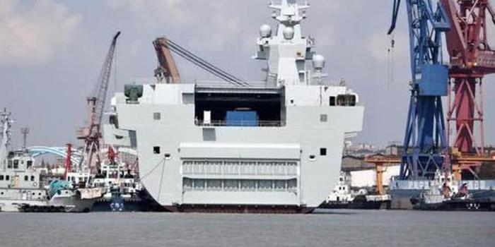 印媒:中国075舰将打破美军两栖作战霸主地位