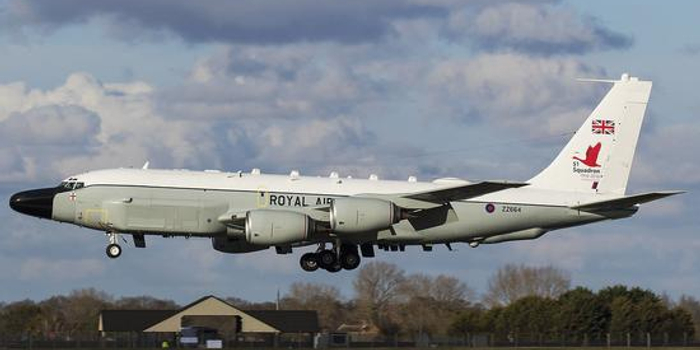 俄媒:英軍偵察機現身俄邊境 近期偵察活動明顯增多