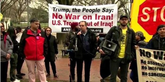 美70多城爆发抗议:不许对伊朗发动战争 撤出中东