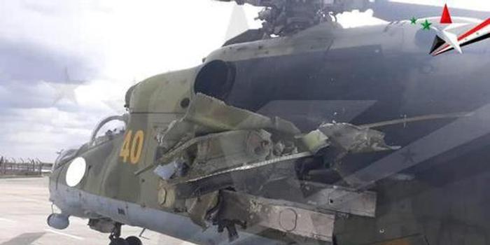 土叙激战:土坦克被击毁于运输车上 叙直升机伤重迫降