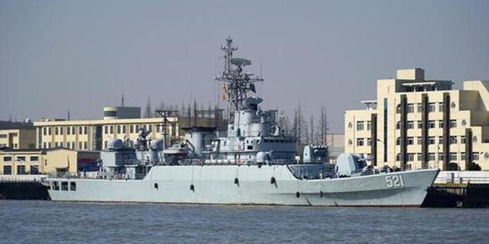 我海军053H3护卫舰换装海红旗10 较056仅存一优势