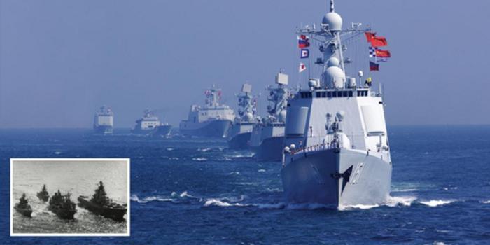 美军官:中国海军像80年代初苏联海军 应用同样方式压制