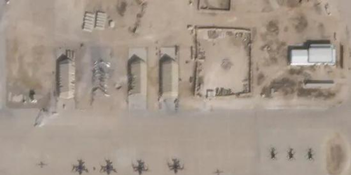 卫星图片显示:伊朗导弹袭击令美军基地7座建筑受损