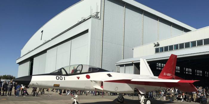 日本展示五代机验证机 矢量喷管设计明显不如歼10