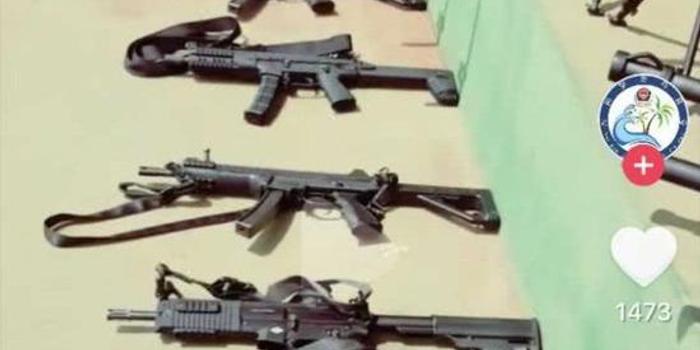 中國造出世界頂尖水平沖鋒槍 配2種彈匣3種槍托(圖)
