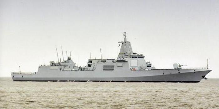 055大驅或成中國最后一型傳統驅逐艦 已無趕超目標