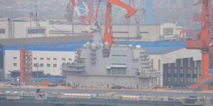 中国第6艘055大驱外观即将成型 今年?#22411;?#19979;水(图)