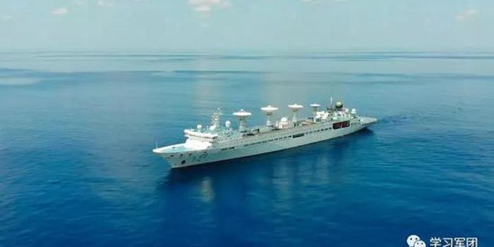 长征五号发射在即 3艘远望号船布阵大洋做准备