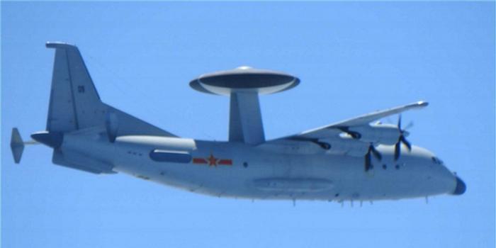 外媒:日军机首次在东海拍到中国空警500预警机(图)