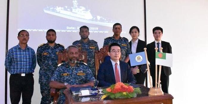 孟加拉海軍再購5艘中國巡邏艦 此前已有5艘服役(圖)