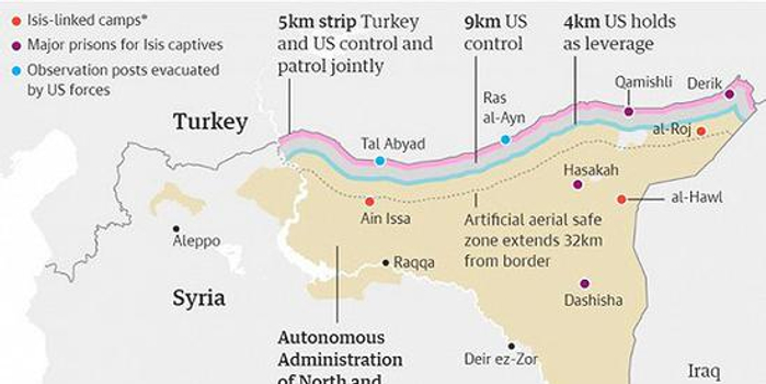 土耳其戰機襲擊敘利亞北部 土軍展開地面攻勢(圖)