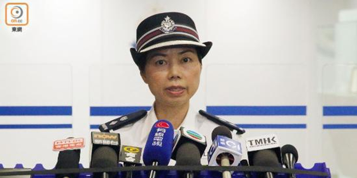 """香港警方回應""""鳴槍示警"""":別無選擇 必須且合理"""