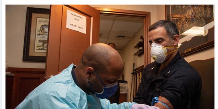 美军航母部分无症状患者隔离14天后检测仍呈阳性