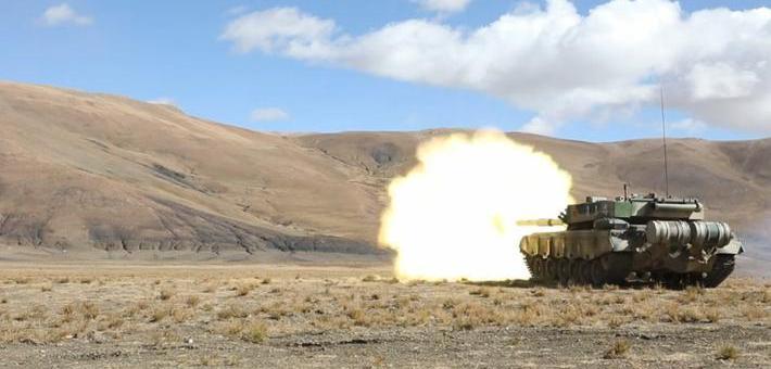 铁骑纵横唐古拉!我96A坦克高原秀火力