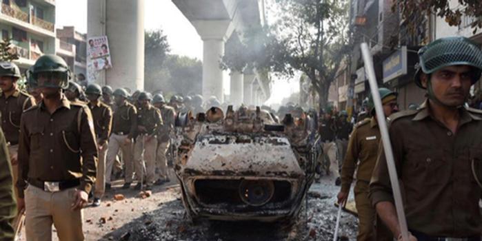 特朗普访印之际印度爆发大规模冲突 致7死90伤