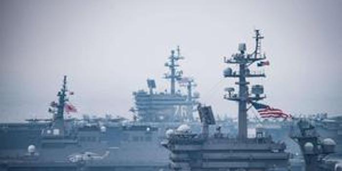 環球時報:就算美海軍原地不動 中國要趕上也需幾十年
