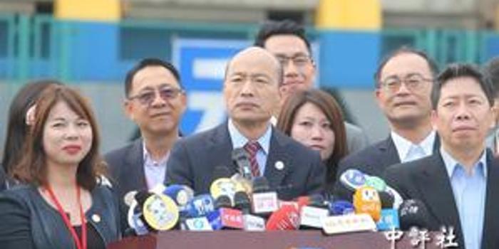 韓國瑜在廈門遙望金門 呼吁參選2020的人做到這八字
