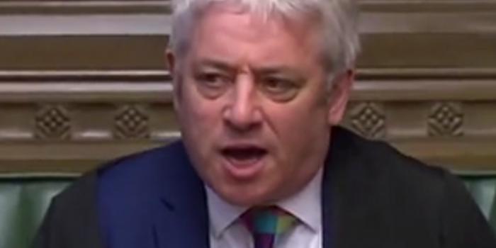 """""""脫歐""""亂局中再走一人 英國下議院議長宣布將辭職"""