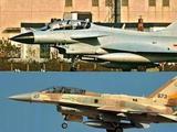 中國領先一步:美戰機后座視線受阻 殲10后座可看跑道