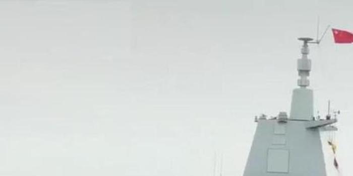 055二號艦試航畫面又被拍到 我國下代大驅或正在研制