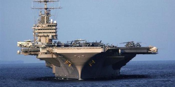 美航母戰斗群仍在波斯灣外 指揮官稱不想同伊朗作戰