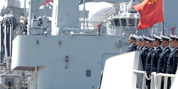 中国海军第35批护航编队赴亚丁湾 神盾舰领衔(图)
