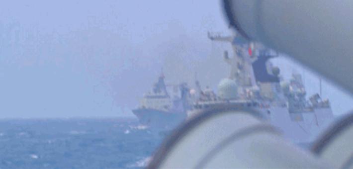 威慑南亚!中国海军东印度洋训练编队