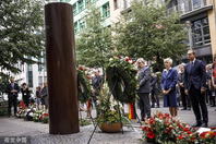 德国柏林纪念柏林墙倒30周年