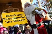 """德国""""圣诞老人邮局""""开业"""