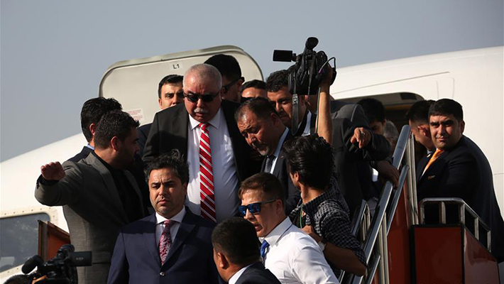 阿富汗副总统回国遭IS袭击