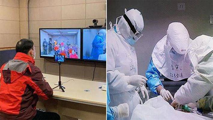 70岁新冠肺炎危重患者获救