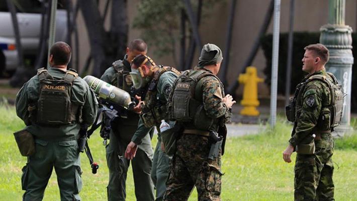 美国夏威夷发生枪击2警察身亡