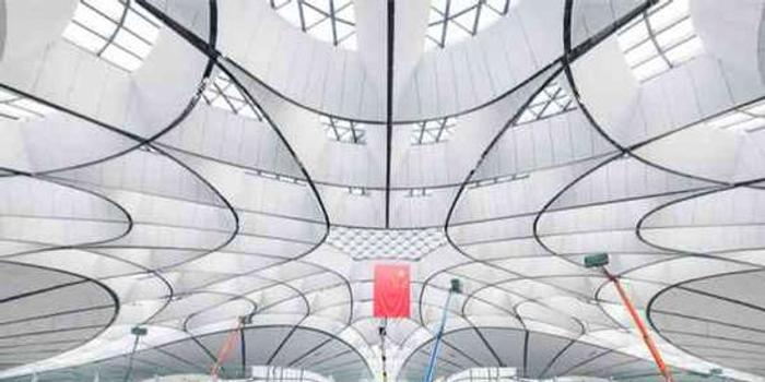 外媒記者參觀北京大興國際機場(圖)