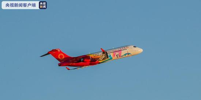國產民用客機ARJ21開通首條國際航線
