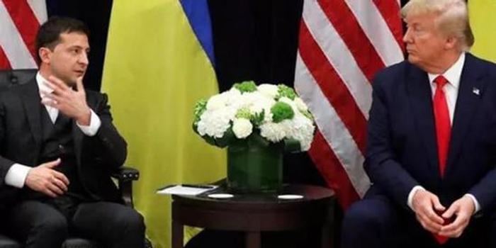 """尷尬 特朗普把澤連斯基說成""""俄羅斯總統"""""""