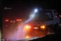 韩国保宁对车辆消毒防控非洲猪瘟