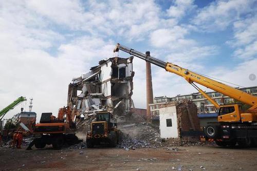 吉林白城坍塌楼房搜救完成 确认5人遇难
