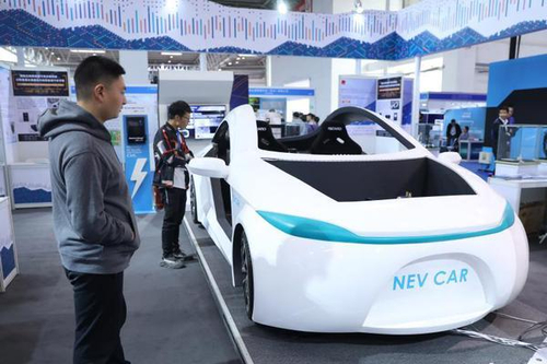 2019世界智能网联汽车大会在北京开幕