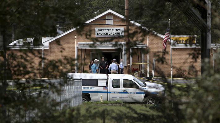 美田纳西州教堂枪击案 已致1死8伤