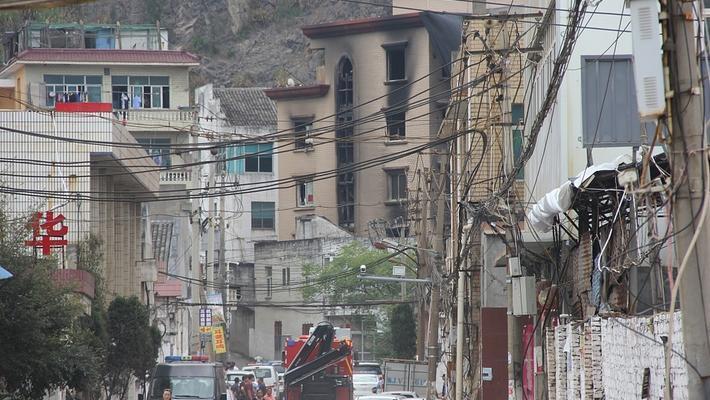 浙江玉环民房起火 致11人死亡