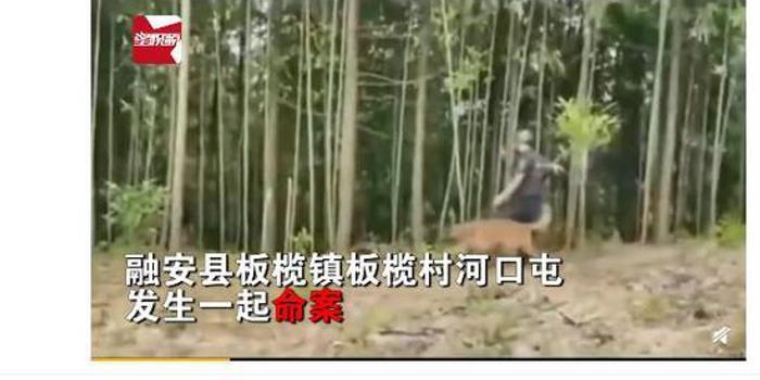 廣西柳州祖孫4人被砍殺致2死2傷 嫌疑人已被批捕