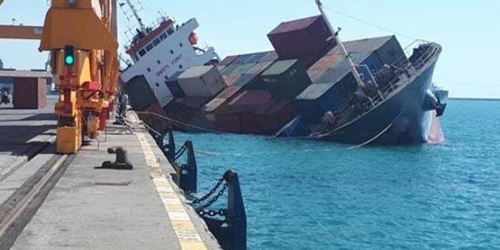 伊朗貨船在里海沉沒 9名船員已全部獲救