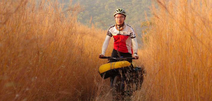 360天,他从非洲骑行回国